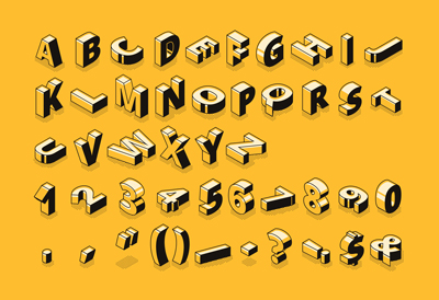 Learn how to design and create your own font using Adobe Illustrator.