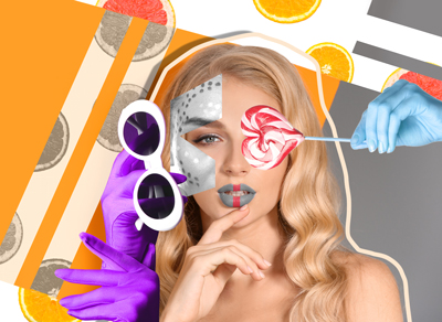 Learn how to create a digital collage in Adobe Photoshop.