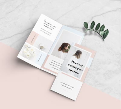 Learn how to design and organize a brochure in Adobe InDesign.