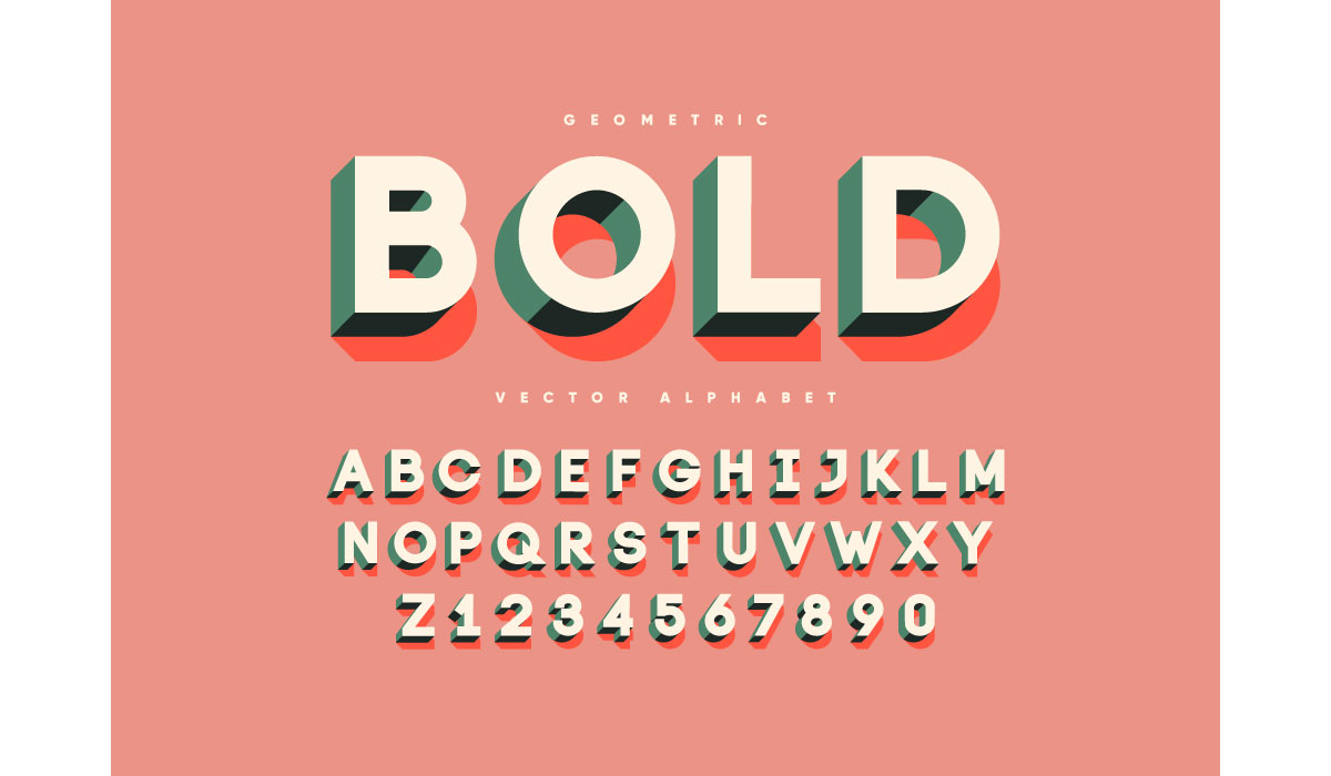 Color and bold fonts