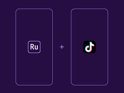 Shoot content on the fly when you're out and about using the Premiere Rush app on iOS or Android, edit your content, then share away.